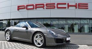 Porsche 911 Carrera Cabriolet PDK | 991 | Agate Grey | RS Motors | Porsche Centre West-Vlaanderen | Porsche Approved