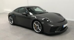 2018 Porsche 991 GT3 Touring Pack 2dr, (18) Plate, Coupe, 1611miles, 3996cc, Manual, Petrol, Agate Grey Metallic