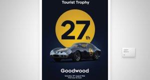 Ferrari 250 GTO Goodwood Motor Racing - Tourist Trophy Race - 1962 - Dark Blue - #5