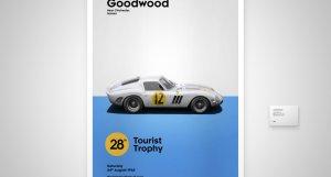 Ferrari 250 GTO Goodwood Motor Racing - Tourist Trophy Race - 1963 - White / Blue - #12