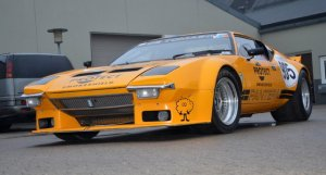 De Tomaso Pantera Group 4 FIA race car 1972