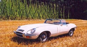 Jaguar E-Type SII Roadster 4,2 Ex-Jenkinson 1970