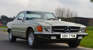 Mercedes-Benz SL 280SL 1980