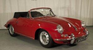 Porsche 356 T-6 C Cabriolet 1964