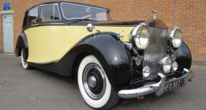Rolls-Royce Silver Wraith by Hooper 1950