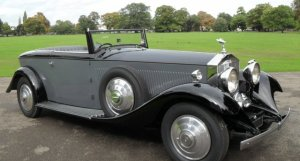 Rolls-Royce Phantom II Continental Boat Tail Drophead Coupe by Park Ward 1933