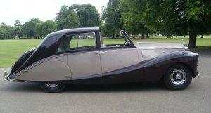 Rolls-Royce Silver Wraith Long Wheel Base Sedanca de Ville by Hooper 1953