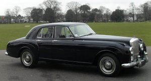 Bentley S1  Continental Four Light Flying Spur by H.J.Mulliner 1958