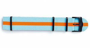 Nato-Strap in Gulf Colours inspired