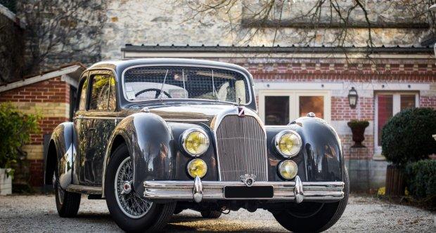 Talbot Lago T26 Coach Surprofilé Osenat