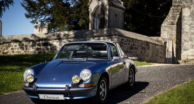 1972 Porsche 911 2.4 S Targa Osenat