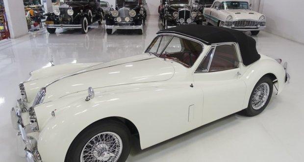 1957 Jaguar XK140 MC Drophead Coupe for sale at Daniel Schmitt & Co.