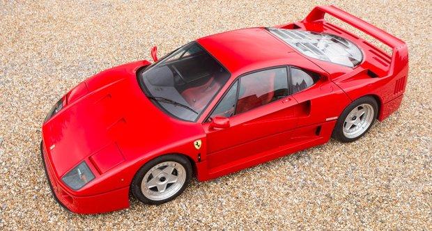 1992 Ferrari F40 Rhd Classic Driver Market