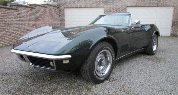 1968 Chevrolet Corvette C3 Stingray Cabrio Classic Driver Market