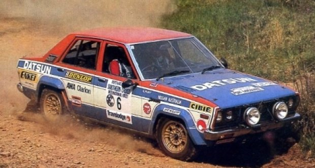 1979 Datsun Stanza Pa 10 Nissan Ex Works Rally Car Classic