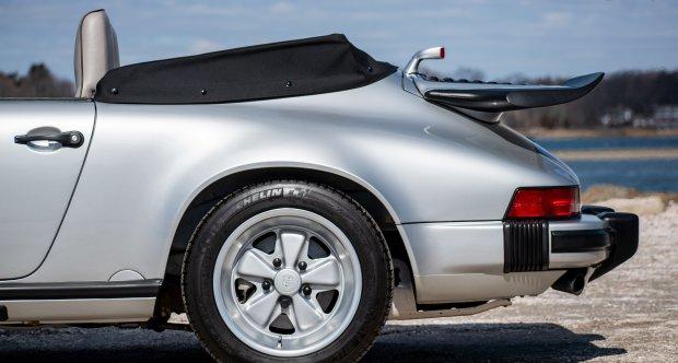1989 Porsche 911 25th Anniversary Edition Cabriolet