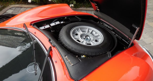Ferrari Dino 246 Spare Tire Compartment