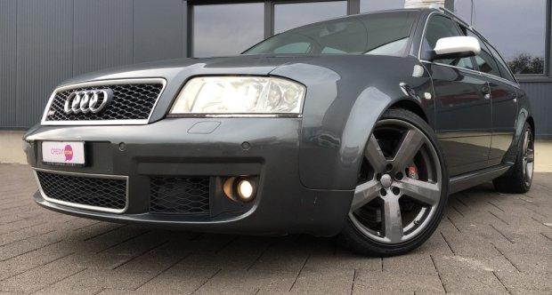 2002 Audi Rs 6 Rs6 Avant Quattro Classic Driver Market