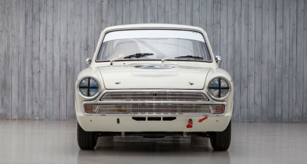 The Ex - Andy Wolfe & Rob Hall 1965 Lotus Cortina Mk1 FIA For Sale at William I'Anson Ltd