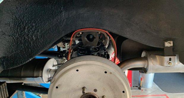 Alfa Romeo Giulietta Sprint lift rear suspension