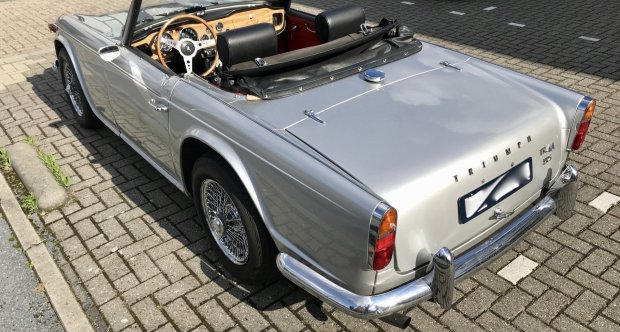 Triumph TR4A IRS for sale
