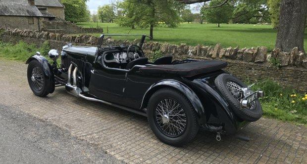 Aston Martin MKII Ecurie Bertelli