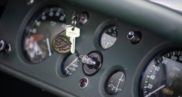 jaguar xk 120 ots interior