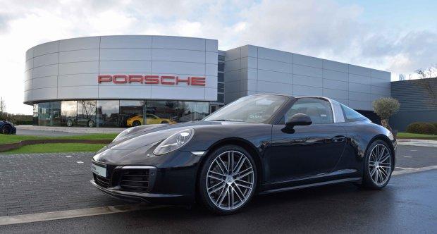 2017 Porsche 911 991 Carrera 911 Targa 4 Porsche Approved
