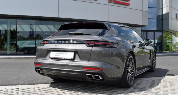 Porsche Panamera Turbo Sport Turismo | Agate Grey | Porsche Approved | Porsche Centre West-Vlaanderen | RS Motors