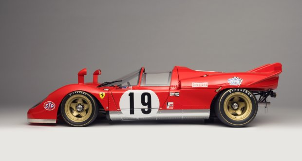 Ferrari 512 S Spyder at 1:8 scale