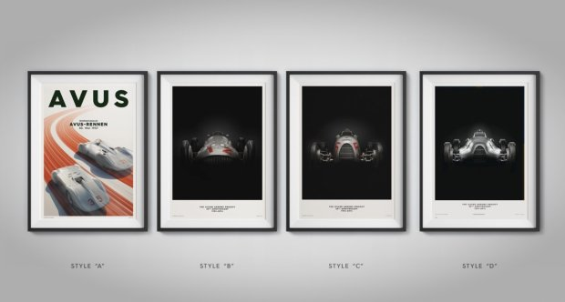 Silver Arrows Poster Collection - 1