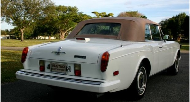 Rolls-Royce Corniche IV 2nd series Convertible - RCX50036 1994