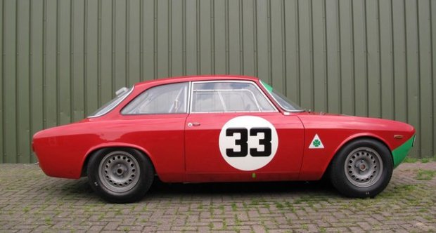 Alfa Romeo GTA FIA Racecar 1965