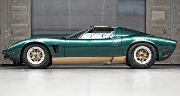 Lamborghini Miura SV Jota 1971