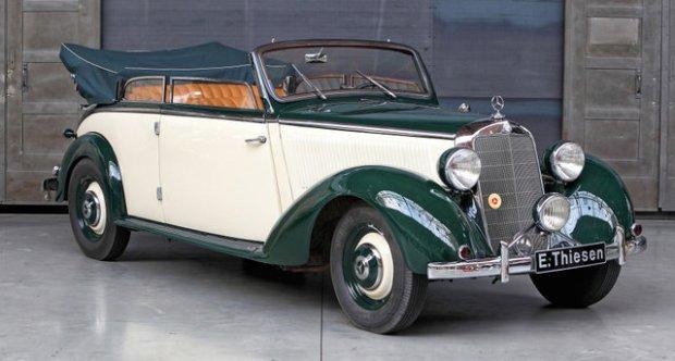 Mercedes-Benz   Pre-War 230 Cabriolet B (W 153) 1939