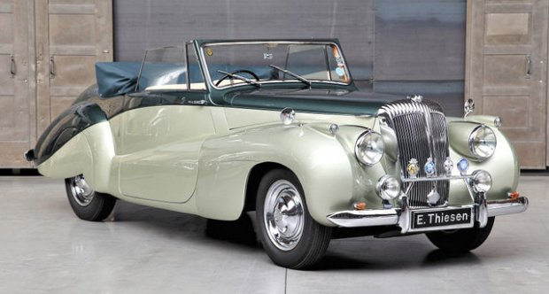 Daimler DB18 Barker Special Sports DHC 1951