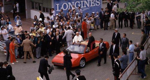 "Ferrari Mondial Convertible ""POPE JP II"" 1988"