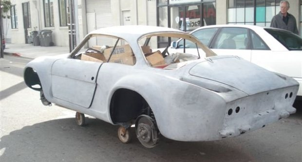 Renault Alpine A110 - Project Car 1971