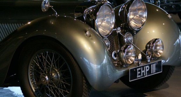 Jaguar SS 100 Fixed Head Coupe 1938
