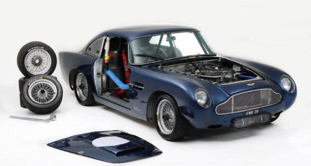 Aston Martin DB5 Lightweight Race Car 1964