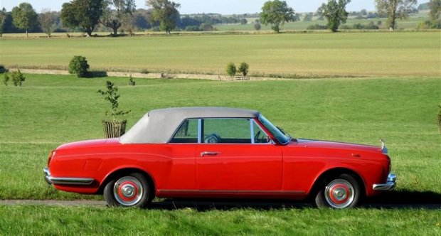 Rolls-Royce Silver Shadow I Drophead Coupe 1968