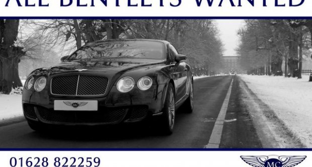Bentley Continental GT WANTED FOR STOCK 2010