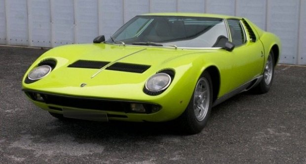 Lamborghini Miura P400 1970