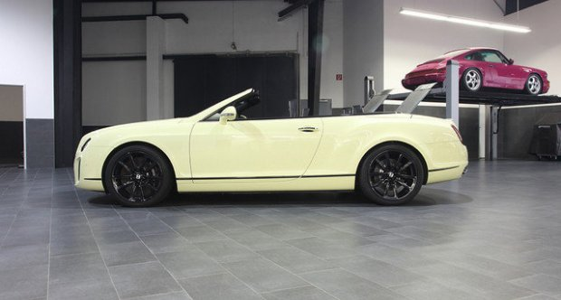 Bentley Continental Supersports Convertible   EX CEO of Bentley 2010
