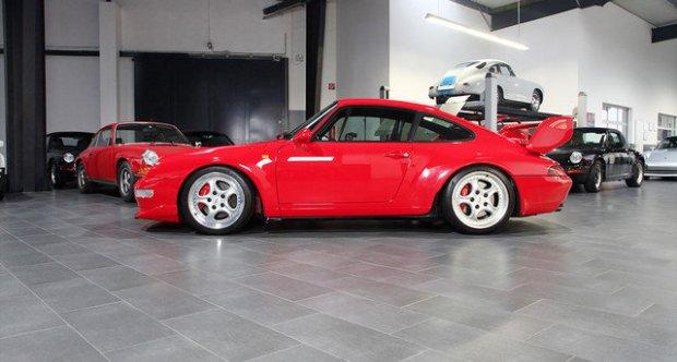 Porsche 911 / 993 Carrera    RS Indischrot MwSt. ausweisbar 1995