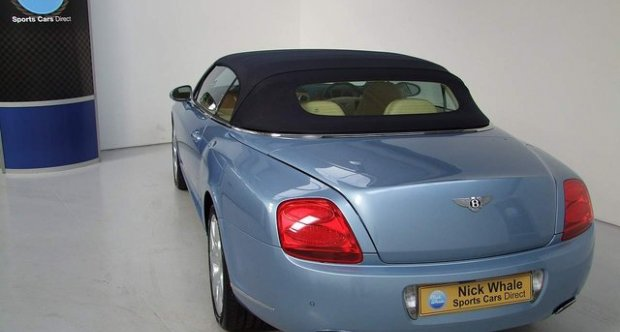 Bentley Continental GTC Mulliners Drivers Specification 6.0 W12 2008