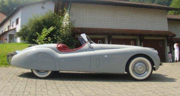 Jaguar XK120 Open Two Seater 1954