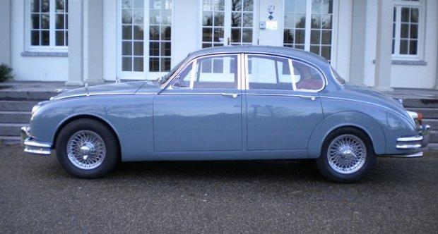 Jaguar MK 2 3.8 Manual Overdrive Sunroof 1962