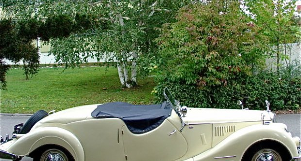 Riley 2.5 RMC Roadster 1949