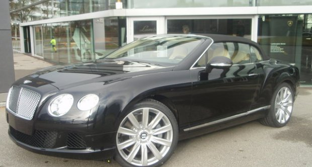 Bentley Continental GTC The new GTC! 2012